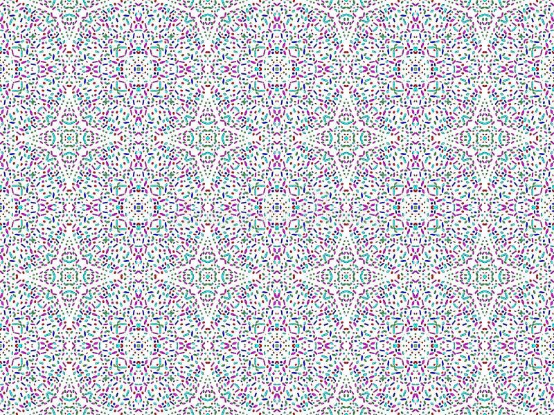 Textuur met geometrische patronen vector illustratie