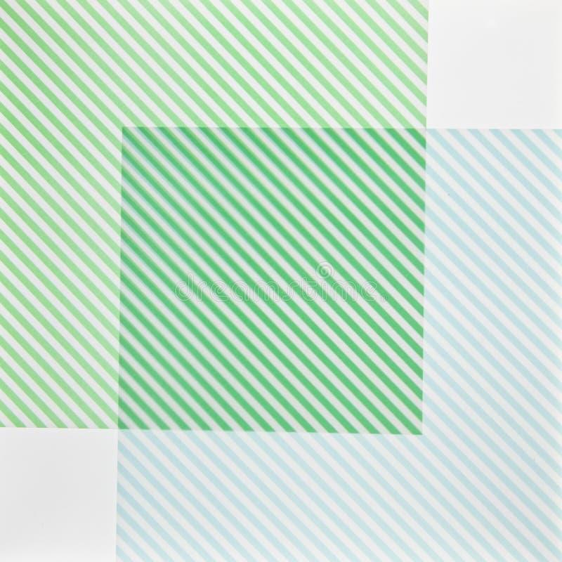 Textuur met groene en witte kaarten royalty-vrije illustratie