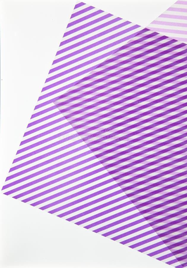 Textuur met purpere en witte kaarten vector illustratie