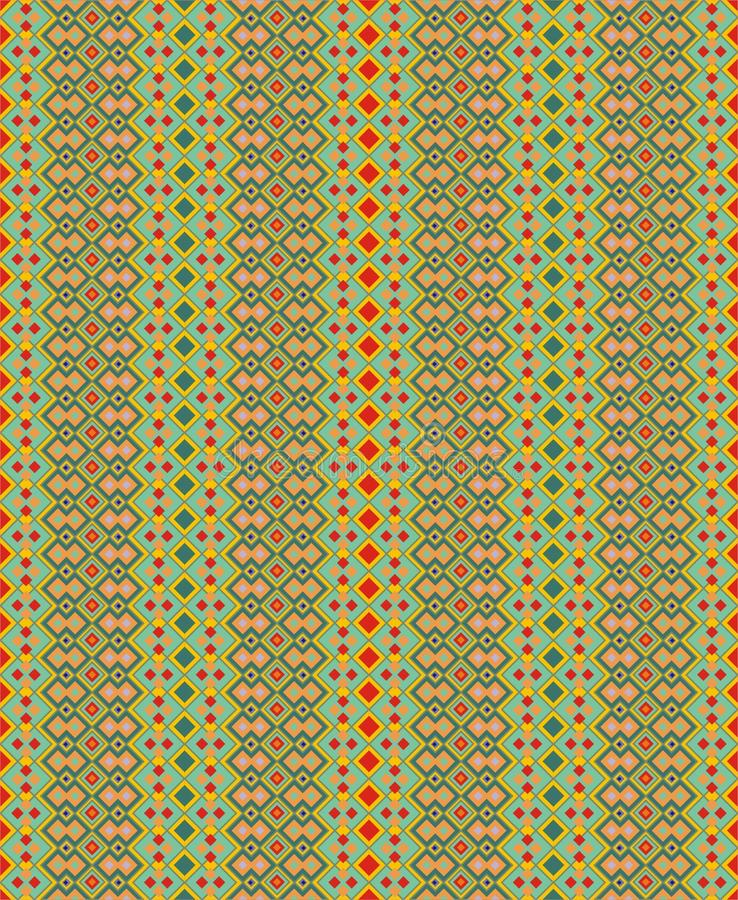 Textuur met streepornamenten stock illustratie