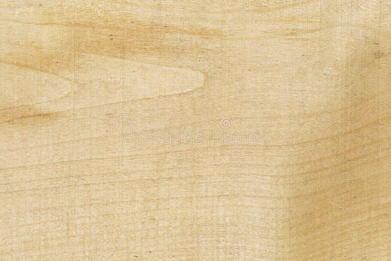 Textuur natuurlijke lichte houten gele kleur De stevige houten textuur is één raad Achtergrondboom stock afbeelding