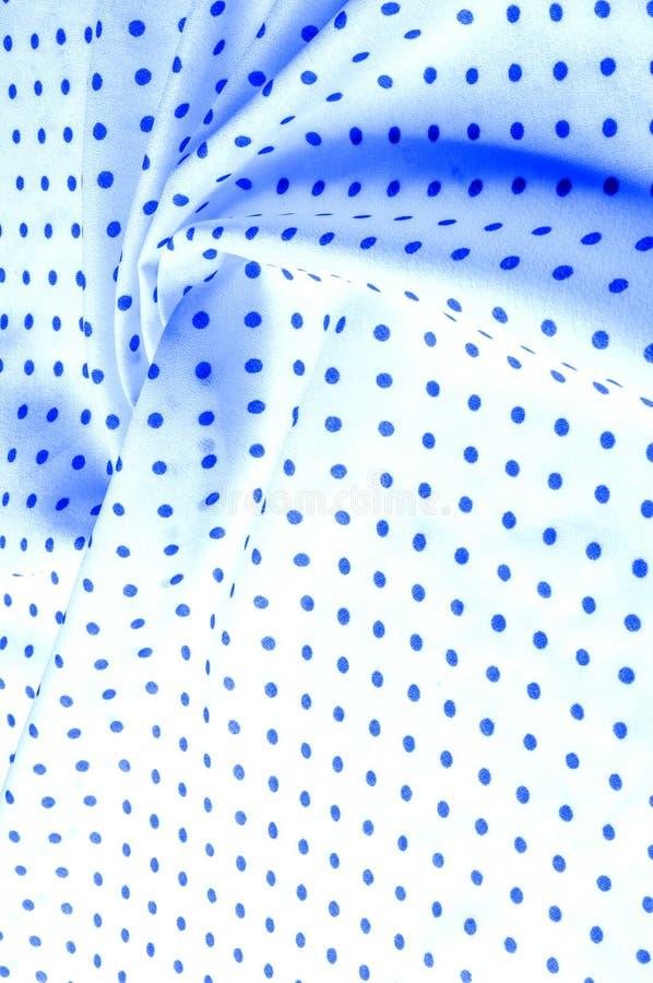 Textuur Tekening Achtergrond zijdestof - blauw, polka Ete royalty-vrije stock afbeeldingen