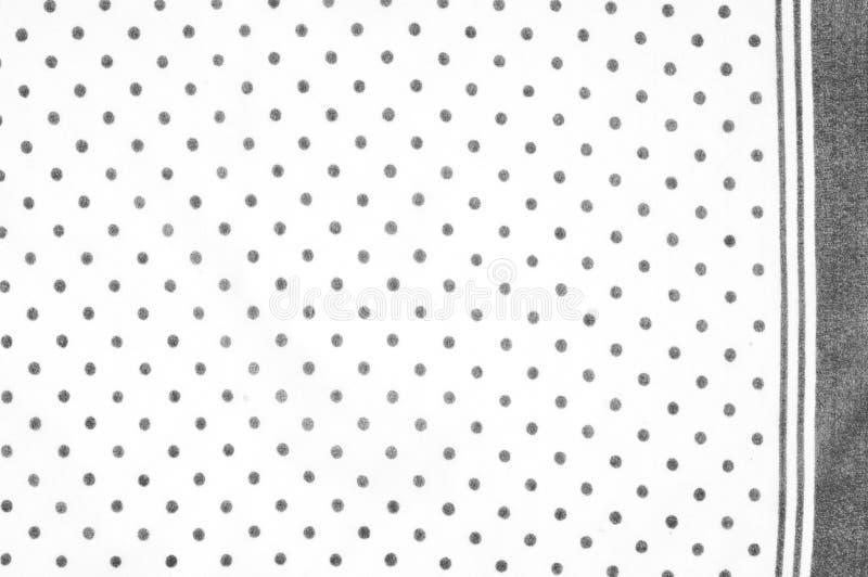 Textuur Tekening Achtergrond zijdestof - wit, polka Kashib stock afbeeldingen