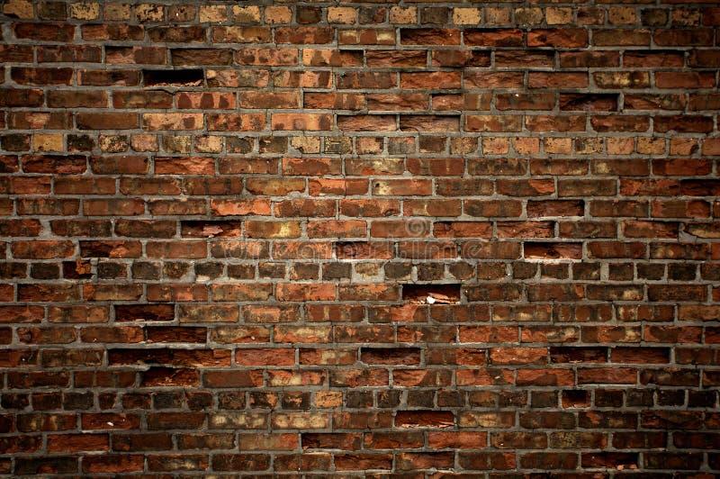 Textuur van bakstenen muur royalty-vrije stock foto's