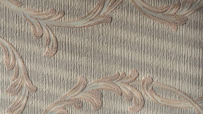 Textuur van behang op de muur royalty-vrije stock foto's