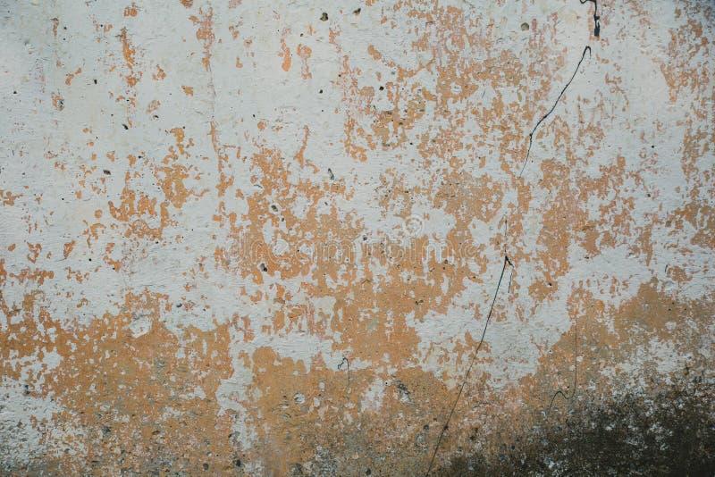 Textuur van beton en pleister op de muur Oude pleistervlekken op het beton Textuur van oud concreet muur en pleister royalty-vrije stock foto's