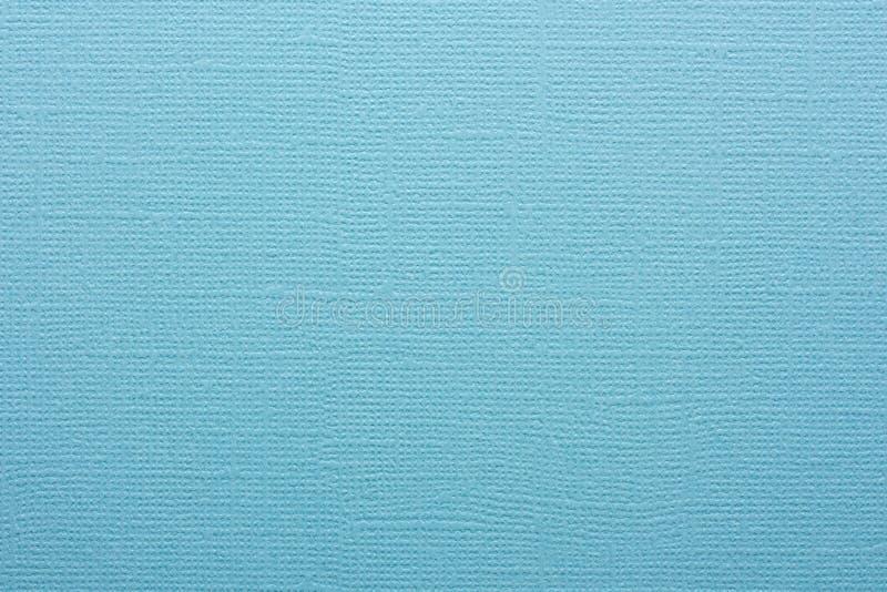 Textuur van blauw in reliëf gemaakt document als achtergrond royalty-vrije stock foto's