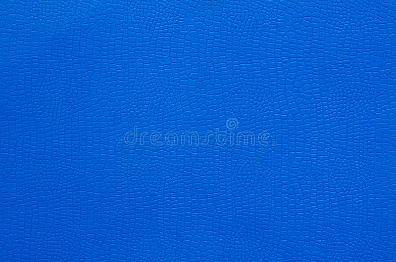 Textuur van Blauwe Plastic Mat voor Gebruikte Achtergrond royalty-vrije stock fotografie