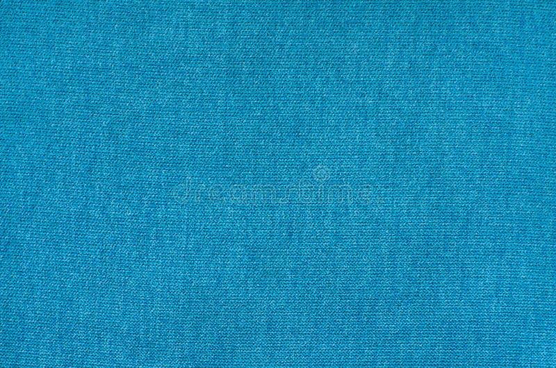 Textuur van blauwe synthetische stof Stapelachtergrond royalty-vrije stock foto's