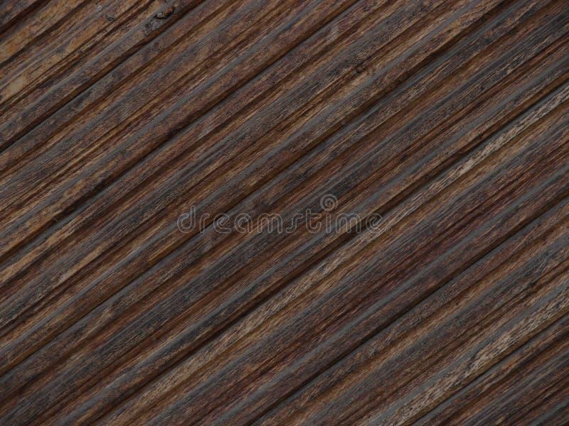Textuur van bruin hout stock foto's