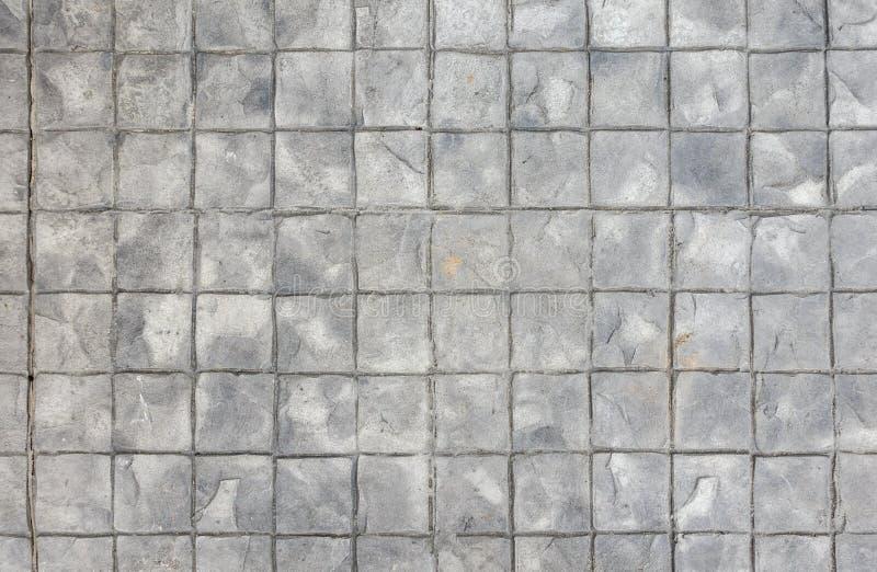 Textuur van concrete zegelweg royalty-vrije stock fotografie