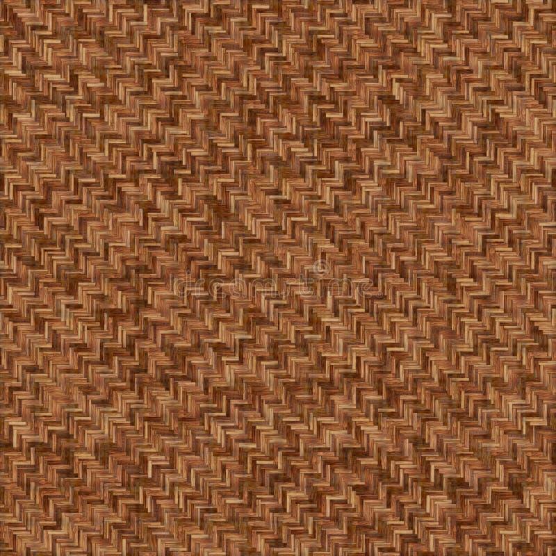 Textuur van de de acacia naadloze vloer van de parketvisgraat de natuurlijke royalty-vrije stock afbeelding