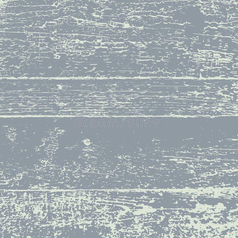 Textuur van de Grunge de Houten Vectorbekleding royalty-vrije illustratie