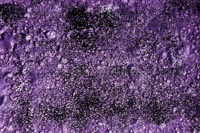 Textuur van de Grunge de ultra purpere Grond, zandoppervlakte, steenachtergrond, goed voor ontwerpelement royalty-vrije stock afbeeldingen