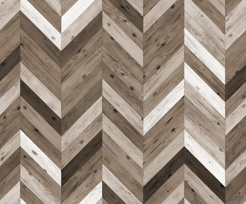 Textuur van de het parket naadloze vloer van de chevron de willekeurige kleur natuurlijke stock fotografie