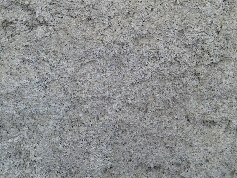 Textuur van de het pleister de grijze kleur van de Sementmuur royalty-vrije stock fotografie
