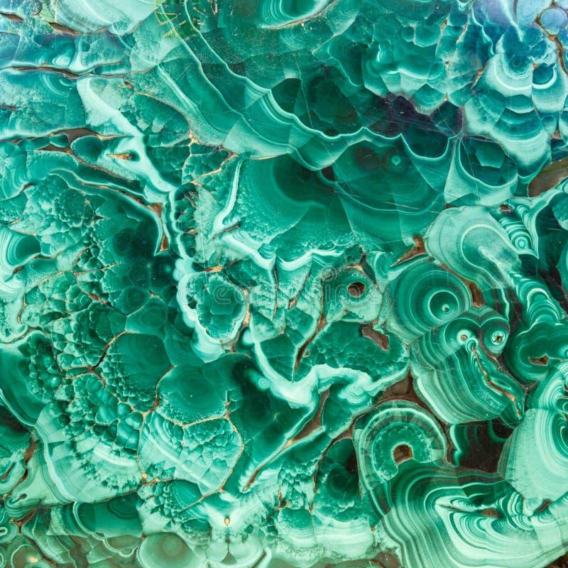 Textuur van de malachiet de groene minerale halfedelsteen, malachietachtergrond, groene achtergrond Het verbazen poetste natuurli stock afbeeldingen