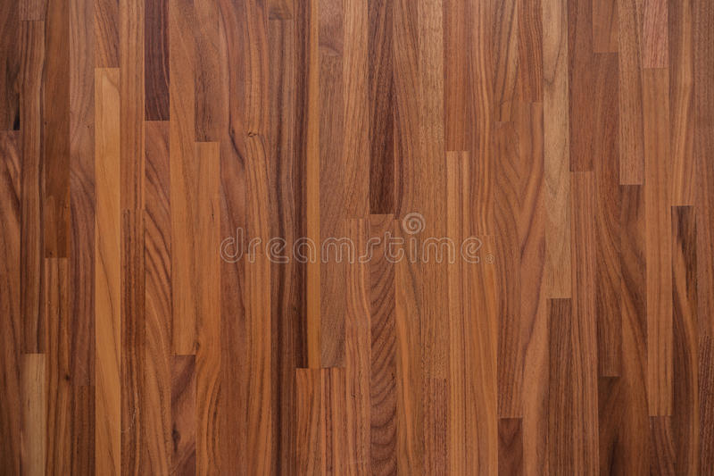 Textuur van de okkernoot de houten lijst stock foto's