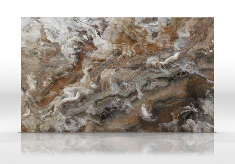 Textuur van de onyx de marmeren Tegel royalty-vrije stock fotografie