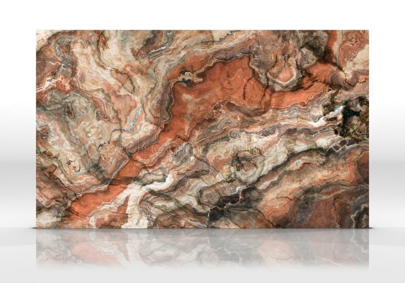 Textuur van de onyx de marmeren Tegel stock foto's
