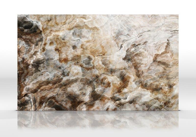 Textuur van de onyx de marmeren Tegel stock fotografie