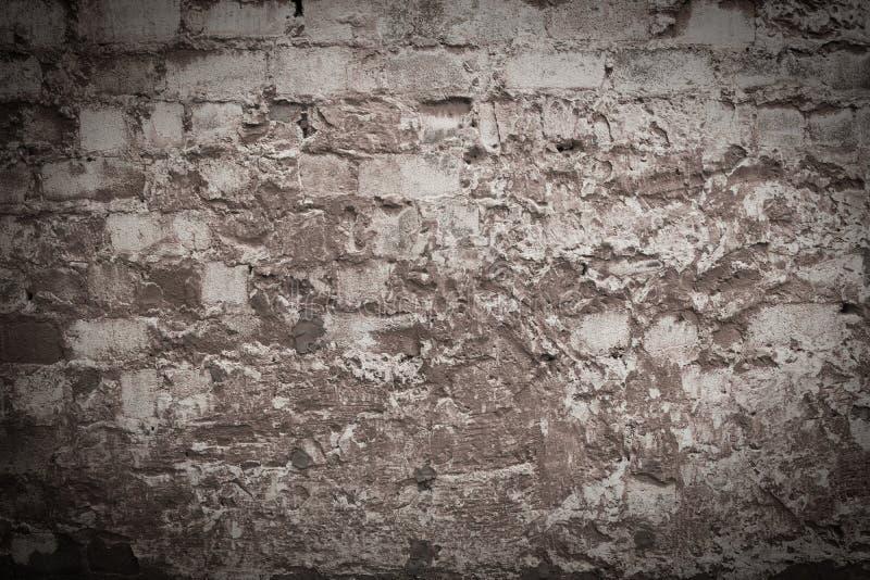 Textuur van de oude dilapidated muur stock afbeeldingen