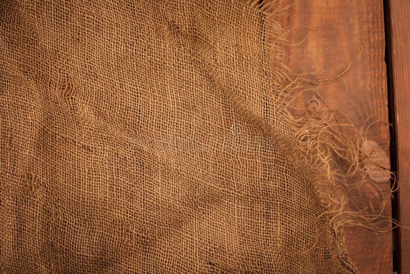 Textuur van de oude jute royalty-vrije stock foto
