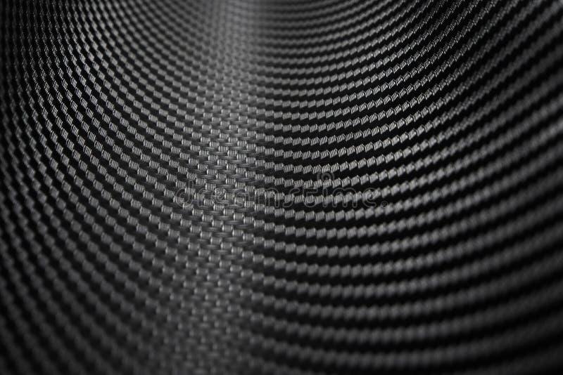 Textuur van de Sticker van de Koolstofvezel Luxe zwart materiaal stock fotografie