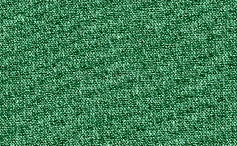 Textuur van de de stoffensteekproef van de close-up de Groene kleur Ontwerp van het de stoffenpatroon van de strooklijn het zwart royalty-vrije stock afbeelding