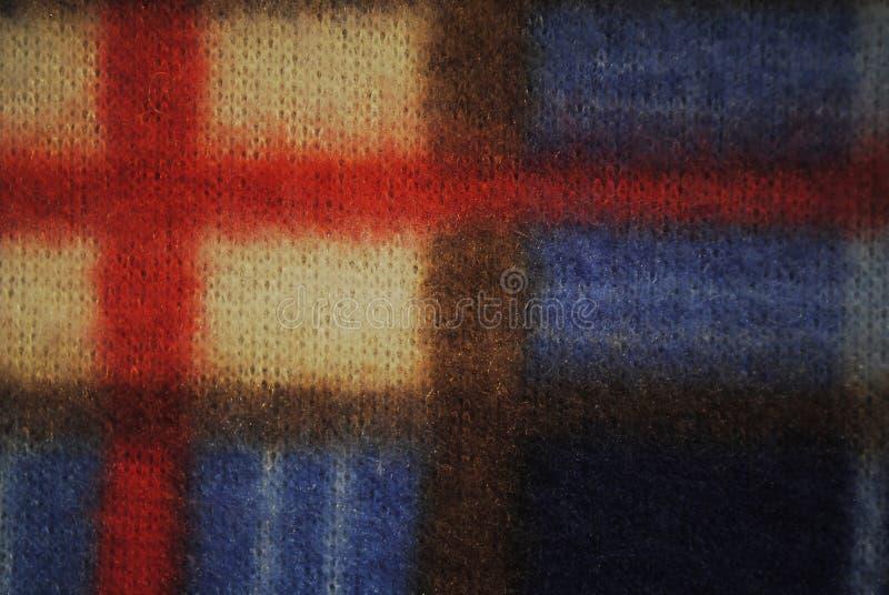 Textuur van de vacht de kleurrijke stof stock foto