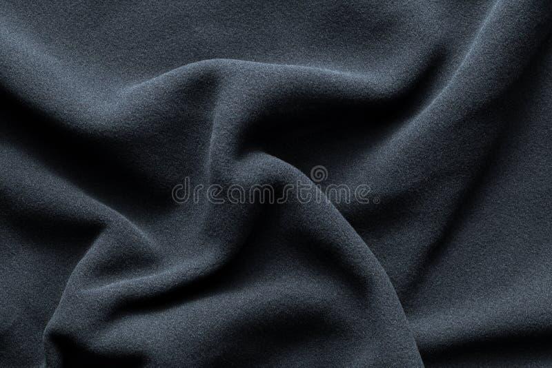 Textuur van donkerblauwe vacht royalty-vrije stock fotografie