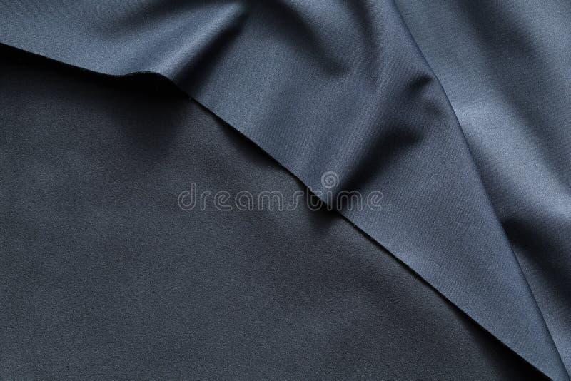 Textuur van donkerblauwe vacht royalty-vrije stock afbeeldingen