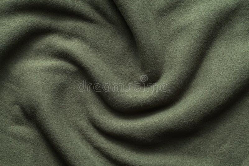 Textuur van donkergroene vacht royalty-vrije stock afbeelding