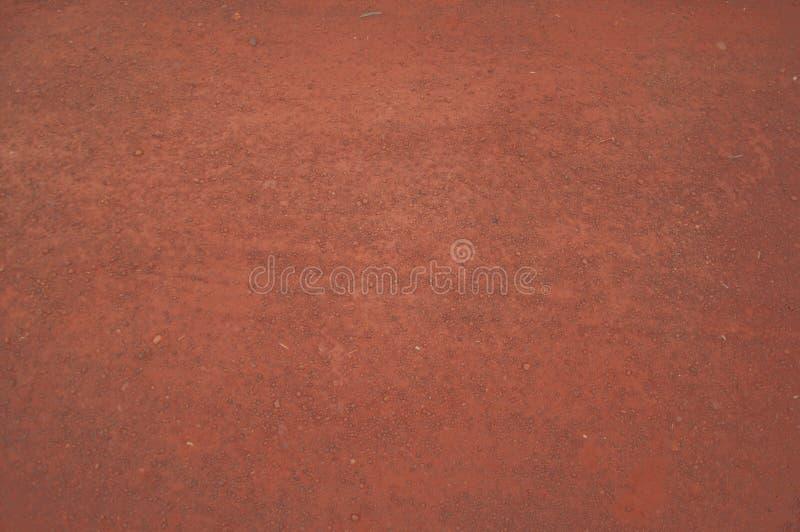 Textuur van droge rode klei stock foto