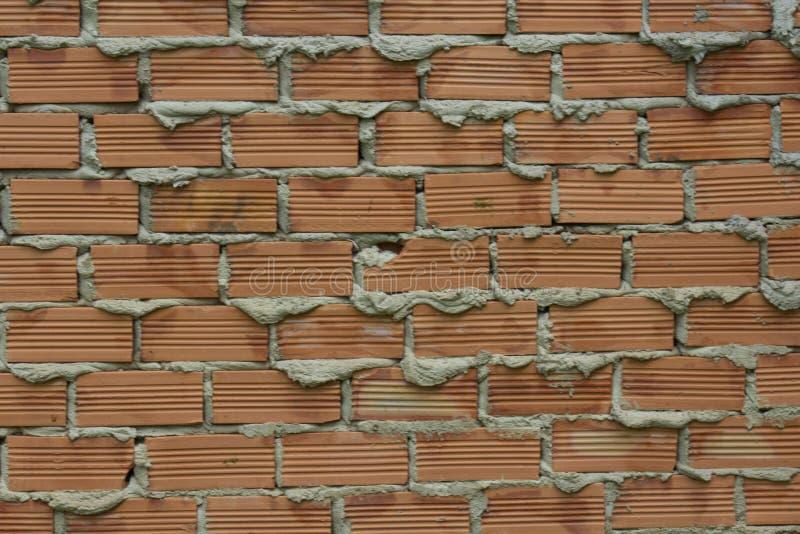 Textuur van een Bakstenen muur voor Abstracte Achtergrond stock foto
