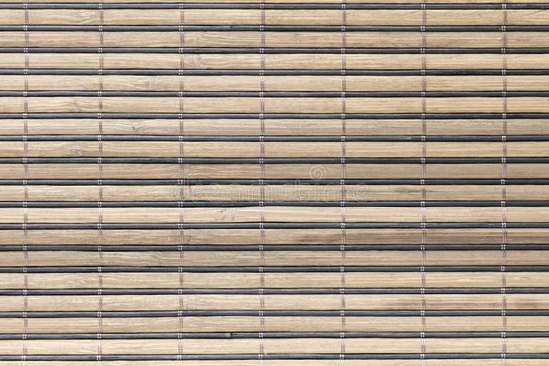 Textuur van een houten mat royalty-vrije stock foto's