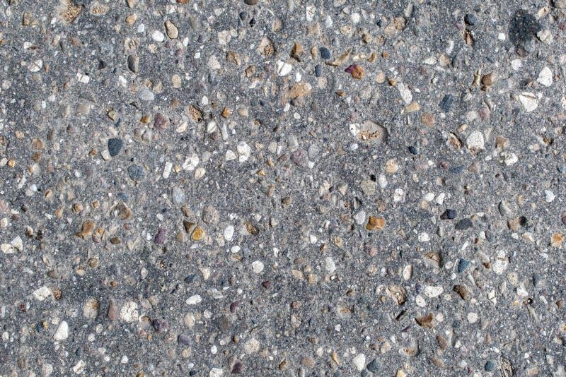 Textuur van een oude asfaltweg royalty-vrije stock foto