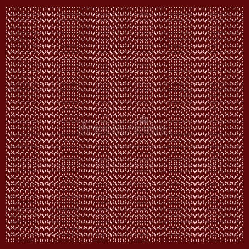 Textuur van gebreide stof Stockinet, Gebreid vlot weefsel royalty-vrije illustratie