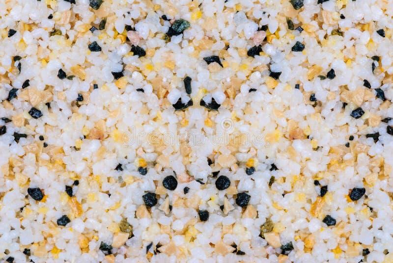 Textuur van gekleurd zand stock afbeeldingen
