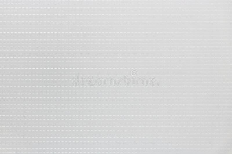 Textuur van gestreepte oude grijze harde plastic, abstracte patroonachtergrond stock fotografie