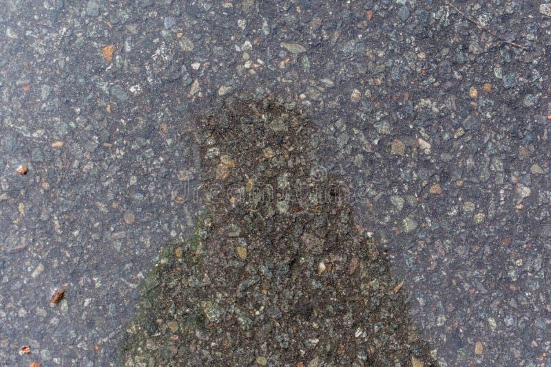 Textuur van gezamenlijk het bedekken asfalt stock fotografie