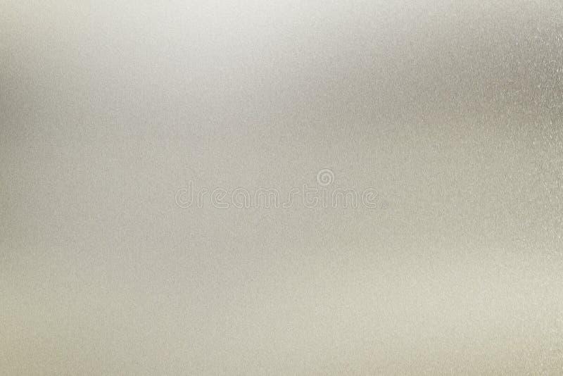 Textuur van glanzend witmetaalpaneel, detailstaal, abstracte achtergrond royalty-vrije stock afbeeldingen