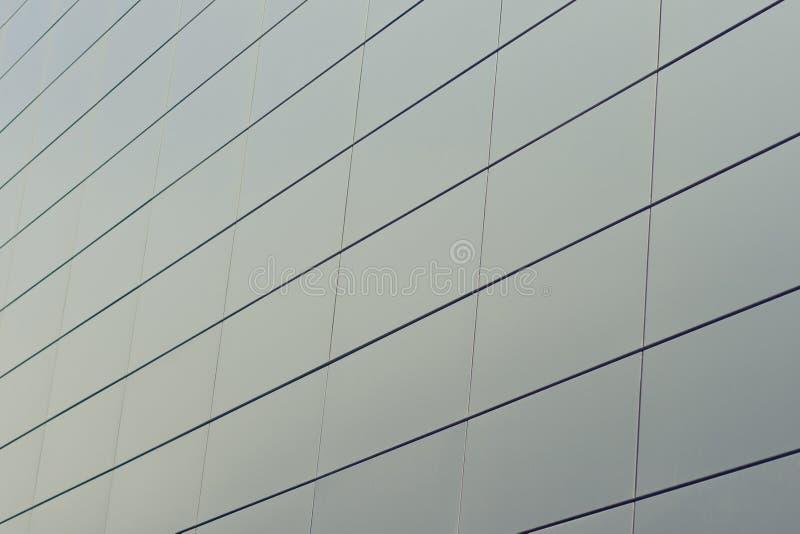 Textuur van glas het bulding in commercieel centrum stock foto's