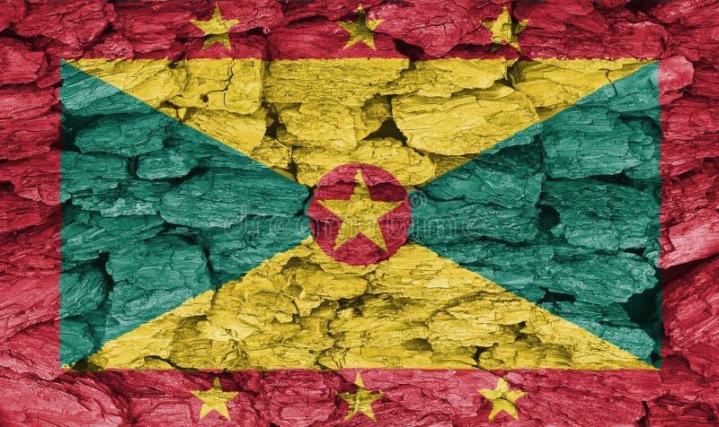 Textuur van Grenada royalty-vrije stock afbeeldingen