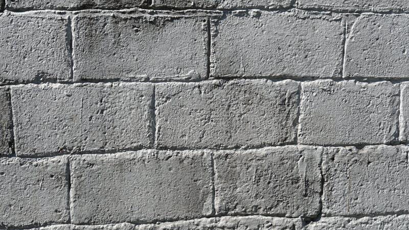 Textuur van grijze baksteen stock afbeelding