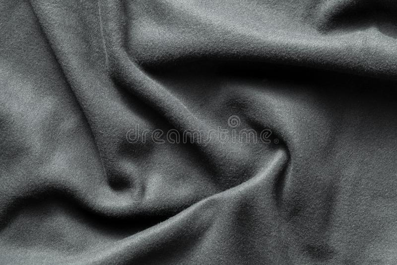 Textuur van grijze vacht royalty-vrije stock afbeelding