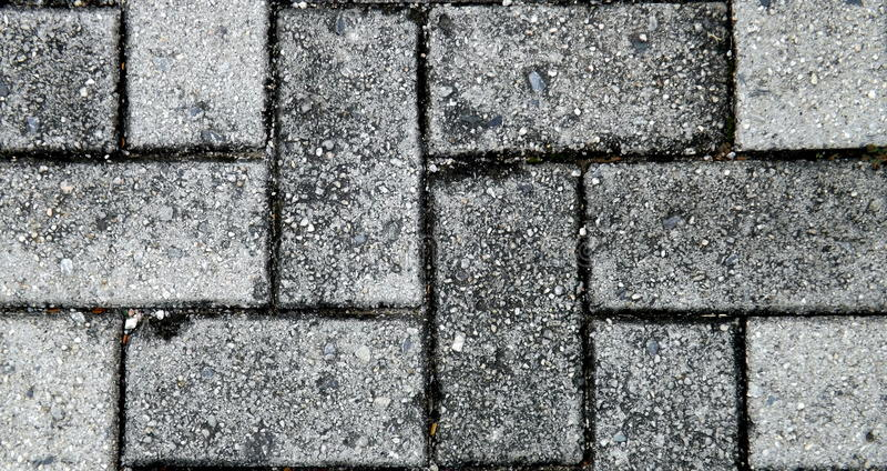Textuur van grijze vloertegels stock foto's