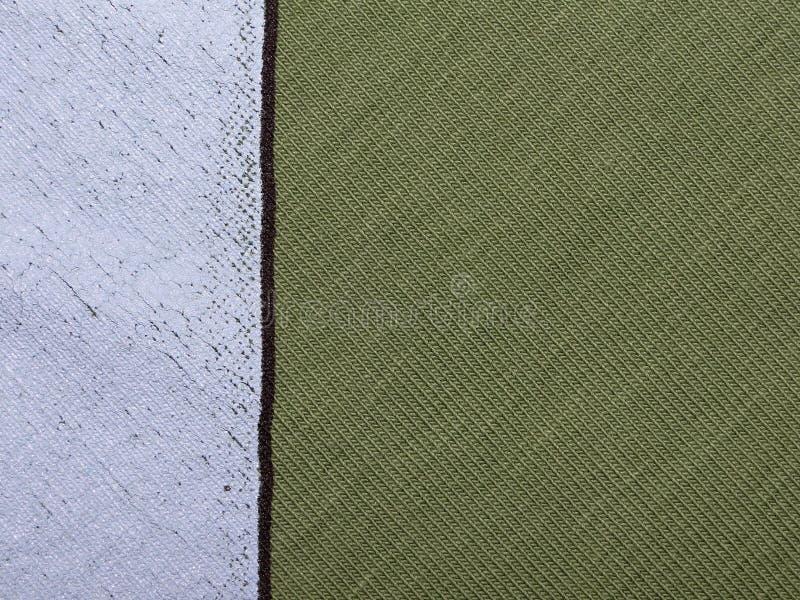 Textuur van groene doek royalty-vrije stock afbeelding