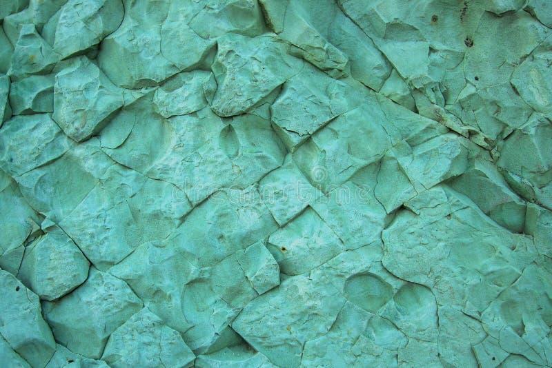 Textuur van groene steen stock afbeelding