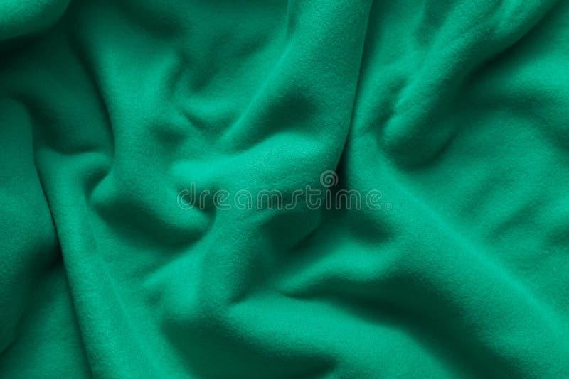 Textuur van groene vacht royalty-vrije stock afbeelding